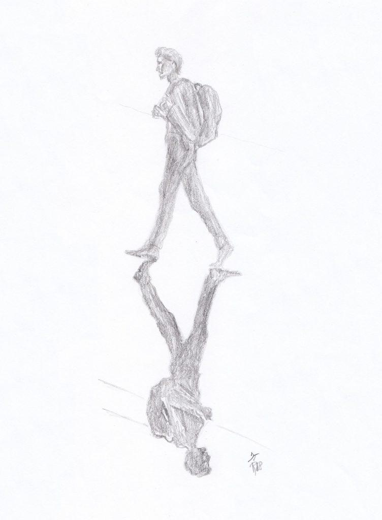 Leaving shadow, the Poet Tree, jurgen toonen